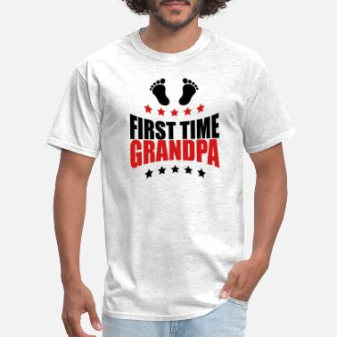 Time The first Grandpa times first time GPA baby - Men's T-Shirt