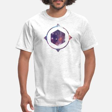 Space Travel polygon space - Men's T-Shirt