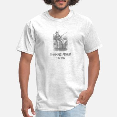 Special Forces Thinking About Fishing - Men's T-Shirt