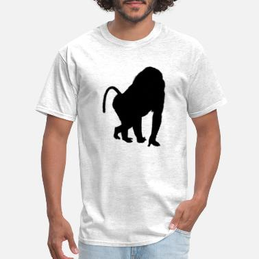 Monkey-house Baboon monkeys - Men's T-Shirt