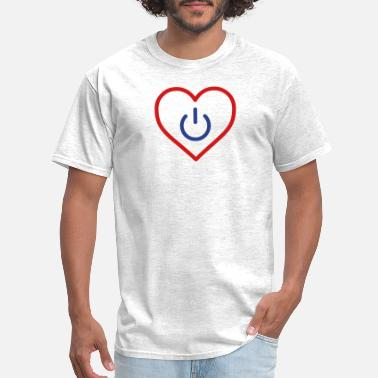 Relation power of love v3 - Men's T-Shirt
