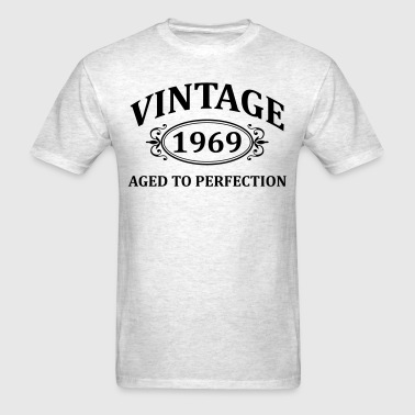 Vintage 1969 Aged to Perfection - Men's T-Shirt
