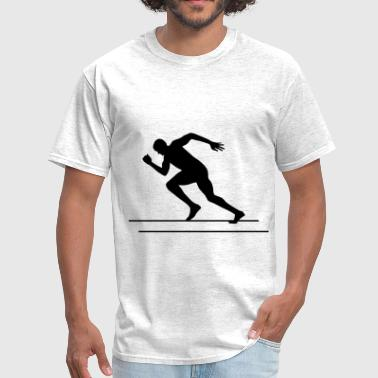 Runner, Running, Sprinter - Men's T-Shirt