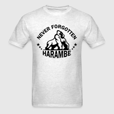 Never Forgotten Harambe - Men's T-Shirt