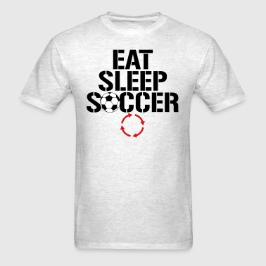Eat Sleep Soccer Repeat - Men's T-Shirt