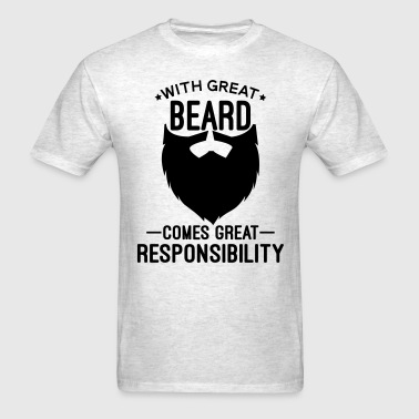 With Great Beard - Men's T-Shirt