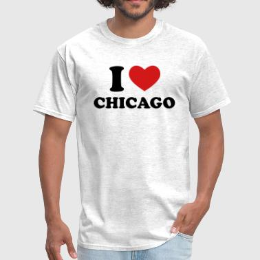 I Love Chicago - Men's T-Shirt