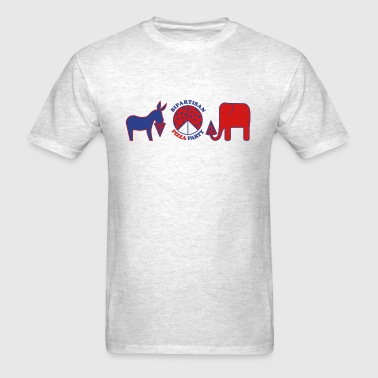 Bipartisan Pizza Party - Men's T-Shirt