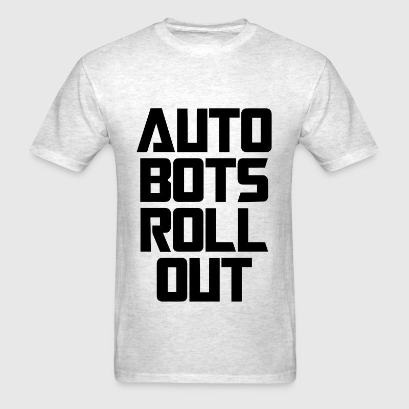 Auto Bots Roll Out - Men's T-Shirt
