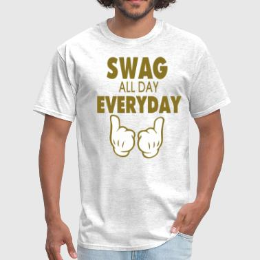 SWAG ALL DAY EVERYDAY - Men's T-Shirt