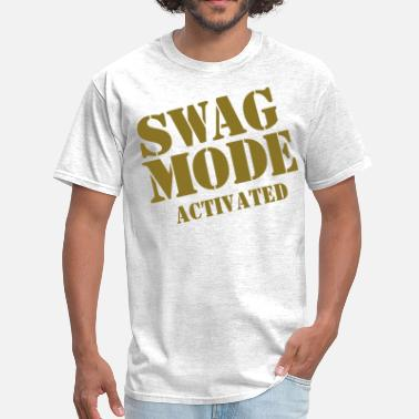 Fuck Mode SWAG MODE ACTIVATED-By Crazy4tshirts - Men's T-Shirt