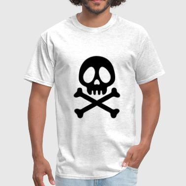 Pirate skull head - Men's T-Shirt