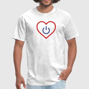 power of love v3 - Men's T-Shirt