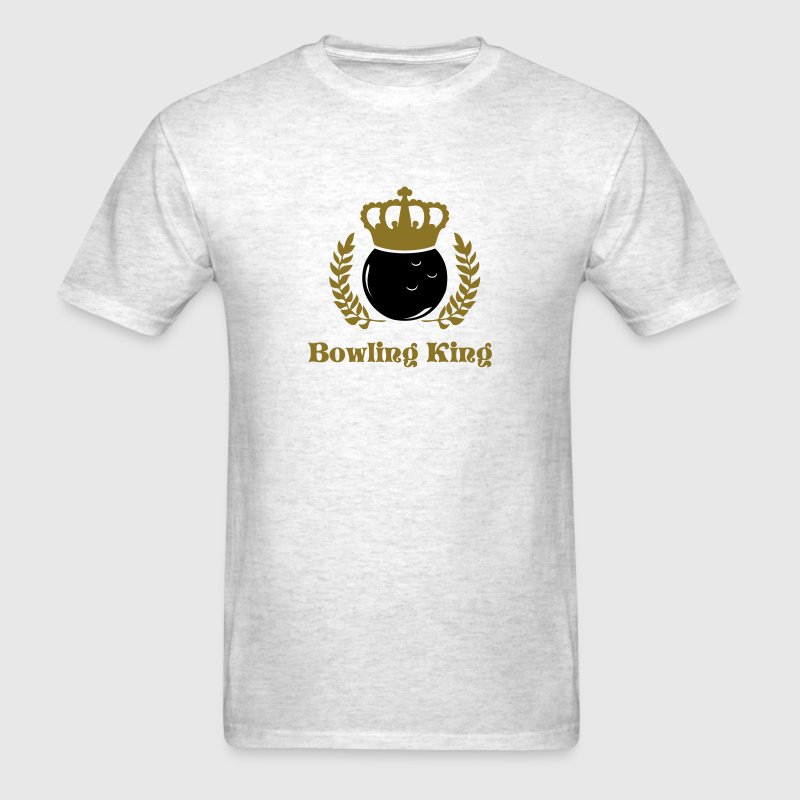 bowling king and queen - Men's T-Shirt