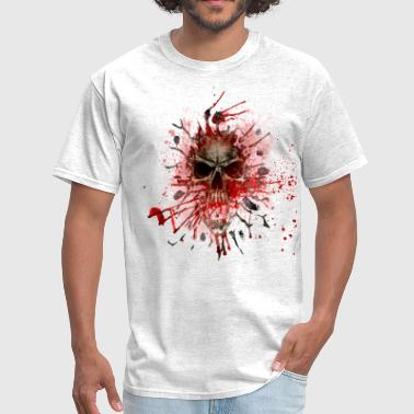 Blood Red Skull skull blood - Men's T-Shirt