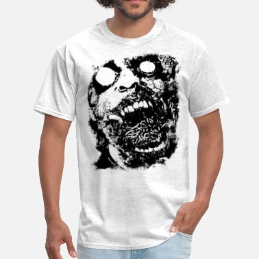 Monster face horror - Men's T-Shirt