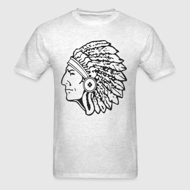 indian apache - Men's T-Shirt