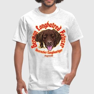 german longhaired pointer - Men's T-Shirt