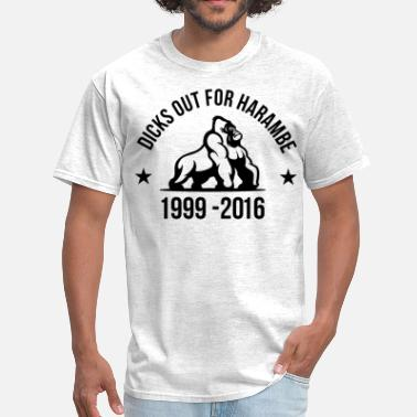 Harambe Dicks Out For Harambe - Men's T-Shirt