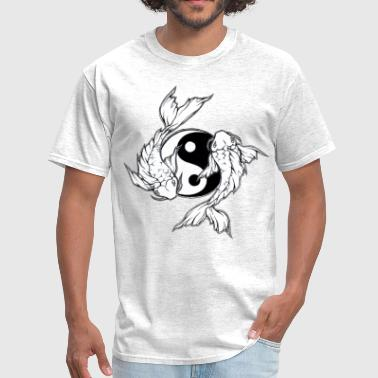koi fish tattoo - Men's T-Shirt