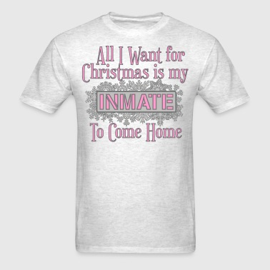 All I Want For Christmas - Pink - Men's T-Shirt