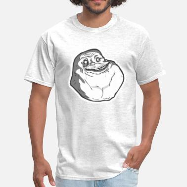 Forever Alone Meme Face Forever Alone Tshirt - Men's T-Shirt