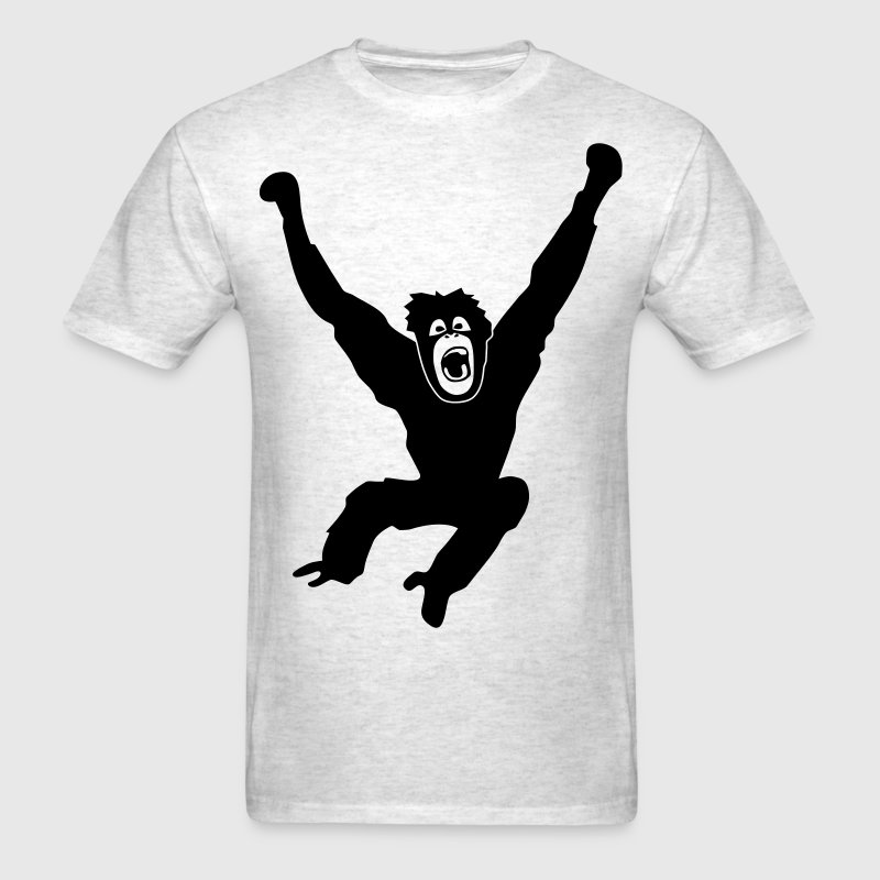 Monkey ape chimp gorilla orang utan swing king kong godzilla - Men's T-Shirt