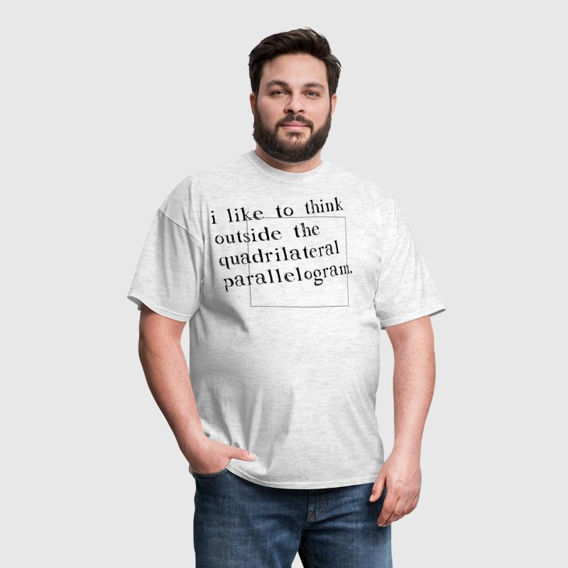 I Like To Think Outside The Box - Men's T-Shirt