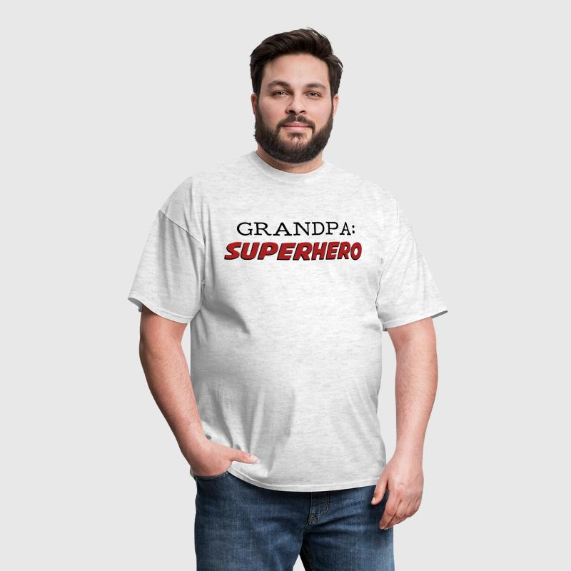Grandpa is a Superhero Grandfather - Men's T-Shirt