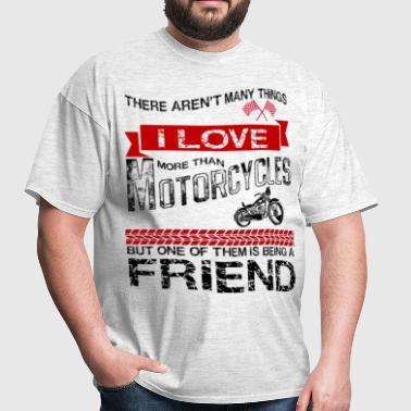 This Friend Loves Motorcycles - Men's T-Shirt