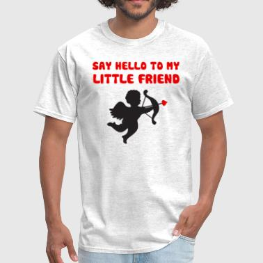 Blood Angels Say Hello To My Little Friend Valentine's Day - Men's T-Shirt