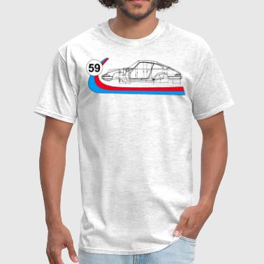 Brumos 59 Vintage 911 Racing - Men's T-Shirt