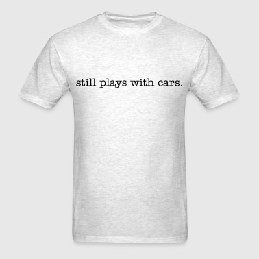 stillplays_with_cars_type - Men's T-Shirt