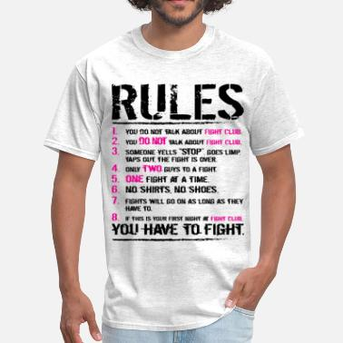 David Fincher The Rules - Men's T-Shirt