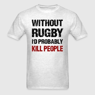 Funny Rugby - Men's T-Shirt