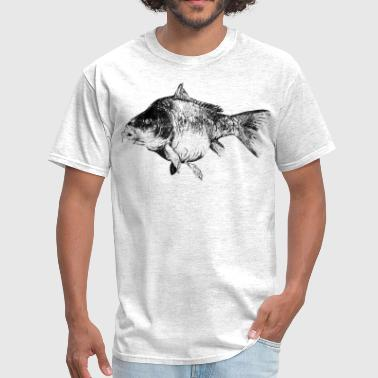 carp fish - Men's T-Shirt
