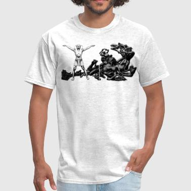 Statues statue - Men's T-Shirt