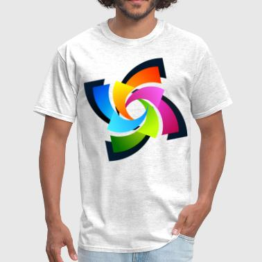 Color Swirl - Men's T-Shirt