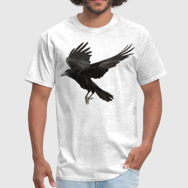 crow flying - Men's T-Shirt