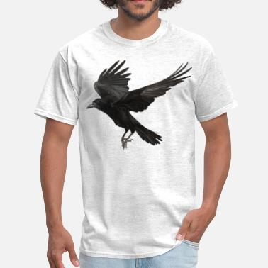 Crow crow flying - Men's T-Shirt