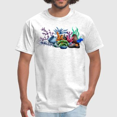 Reef coral - Men's T-Shirt