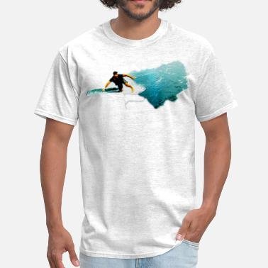 Surfer Girl surfer - Men's T-Shirt