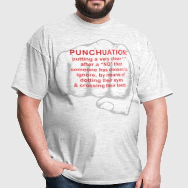 punchuation - Men's T-Shirt