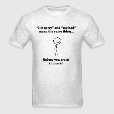 Dark humor - Men's T-Shirt