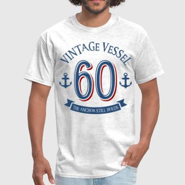 60th Birthday Nautical 60th Birthday - Men's T-Shirt