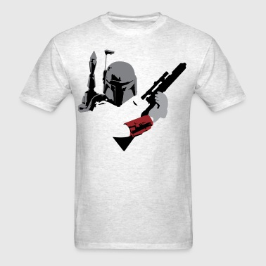 Boba Fett Cutout - Men's T-Shirt