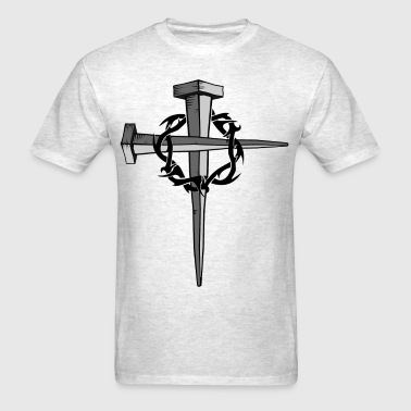 Nail Cross - Men's T-Shirt