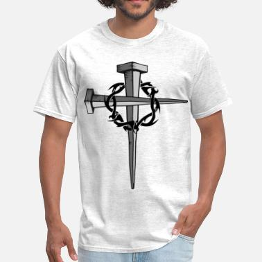 Nails Nail Cross - Men's T-Shirt