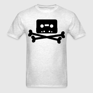 Tape recording is piracy - Men's T-Shirt