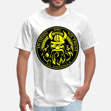 Trust Odin In Odin We Trust  ©WhiteTigerLLC.com  - Men's T-Shirt